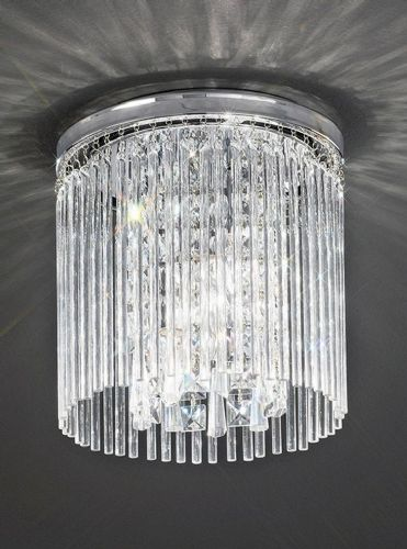 Franklite CF5723 Chrome Ceiling Light